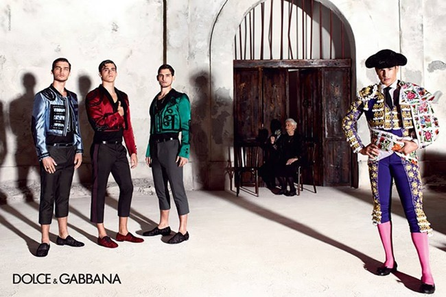 CAMPAIGN Dolce & Gabbana Sprring 2015 by Domenico Dolce. www.imageamplified.com, Image Amplified (3)