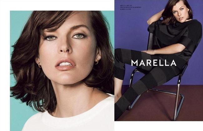 CAMPAIGN Milla Jovovich for Marella Spring 2015. www.imageamplified.com, Image Amplified (2)