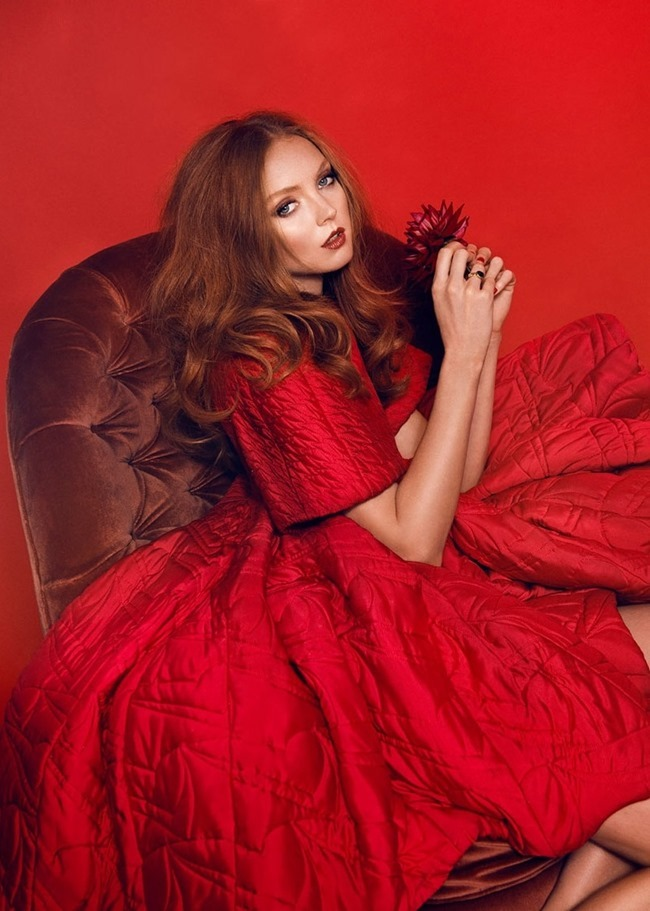 GLAMOUR ITALIA Lily Cole by Signe Vilstrup. Sascha Lillic, January 2015, www.imageamplified.com, Image Amplified (10)