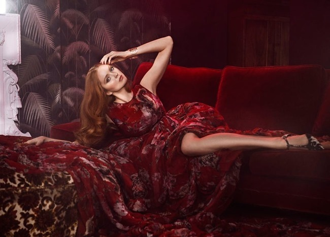 GLAMOUR ITALIA Lily Cole by Signe Vilstrup. Sascha Lillic, January 2015, www.imageamplified.com, Image Amplified (2)