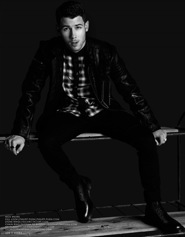KODE MAGAZINE Nick Jonas by Steven Gomillion & Bridger Clements. Allan Troy & Chanel Gibbons. Fall 2014, www.imageamplified.com, Image Amplified (9)