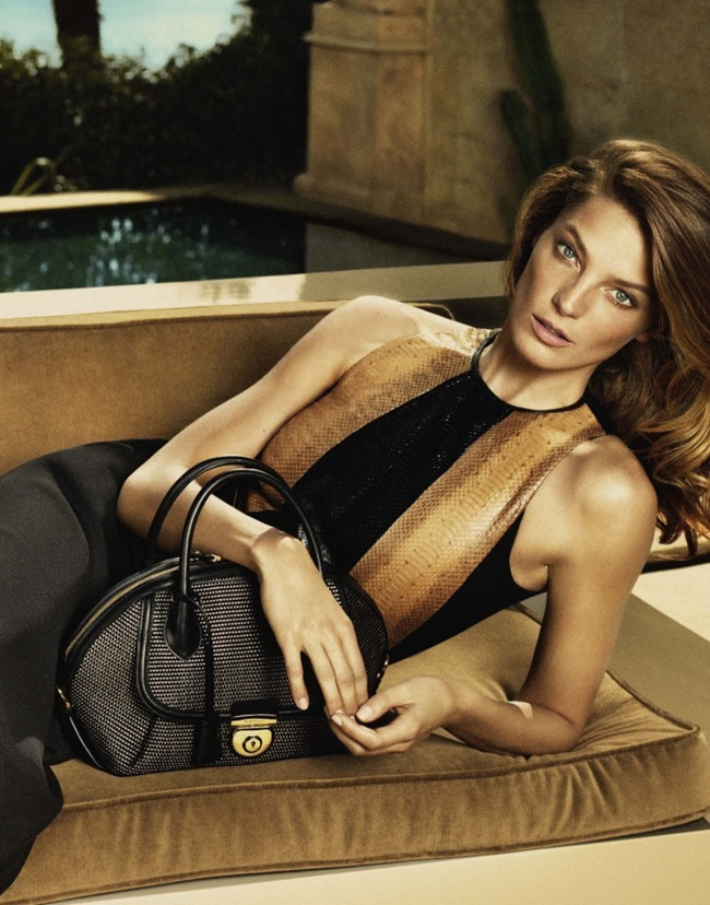 CAMPAIGN Daria Werbowy for Salvatore Ferragamo Spring 2015 by Mert & Marcus. www.imageamplified.com, Image Amplified (4)