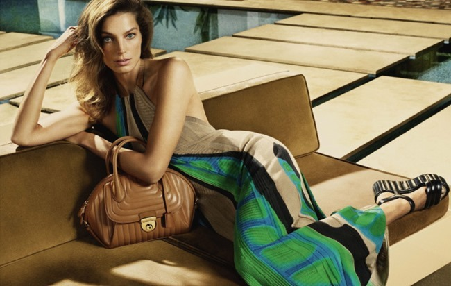CAMPAIGN Daria Werbowy for Salvatore Ferragamo Spring 2015 by Mert & Marcus. www.imageamplified.com, Image Amplified (1)