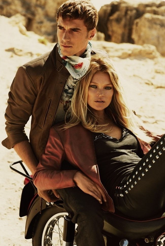 PREVIEW Kate Moss & Clement Chabernaud for Matchless Spring 2015 by Mert & Marcus. www.imageamplified.com, Image Amplified (1)