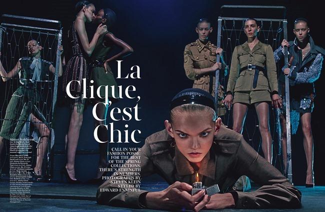 W MAGAZINE La Clique C'est Chic by Steven Klein. Edward Enninful, February 2015, www.imageamplified.com, Image Amplified (5)