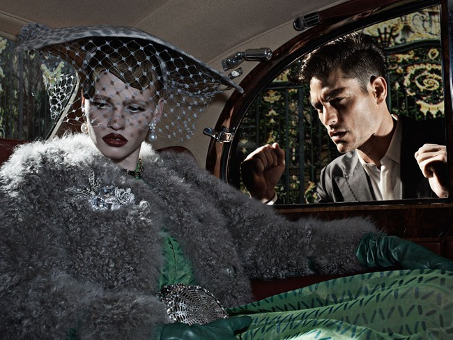 VOGUE ITALIA Lara Stone, Molly Bair & Tyson Ballou by Steven Klein. Patti Wilson, January 2015, www.imageamplified.com, Image Amplified (4)