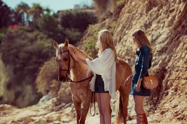 CAMPAIGN Caroline Trentini & Eniko Mihalik for Chloe Spring 2015 by Inez & Vinoodh. www.imageamplified.com, Image Amplified (2)