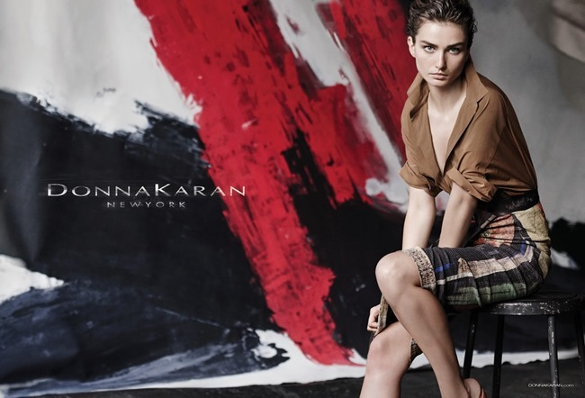CAMPAIGN Andreea Diaconu for Donna Karan Spring 2015 by Peter Lindbergh. www.imageamplified.com, Image Amplified (2)