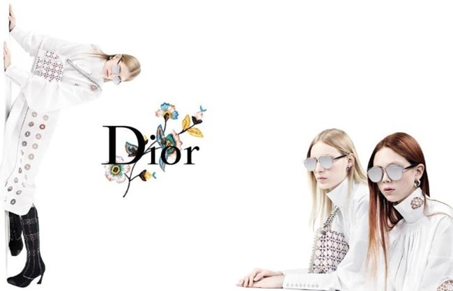 CAMPAIGN Julia Nobis, Natalie Westling & Lexi Boling for Dior Spring 2015 by Willy Vanderperre. www.imageamplified.com, Image Amplified (2)