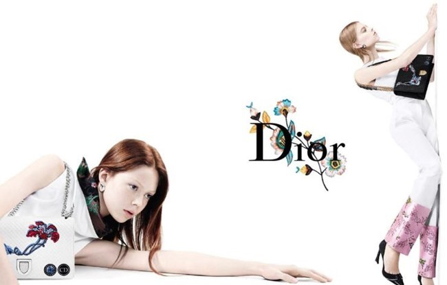 CAMPAIGN Julia Nobis, Natalie Westling & Lexi Boling for Dior Spring 2015 by Willy Vanderperre. www.imageamplified.com, Image Amplified (4)