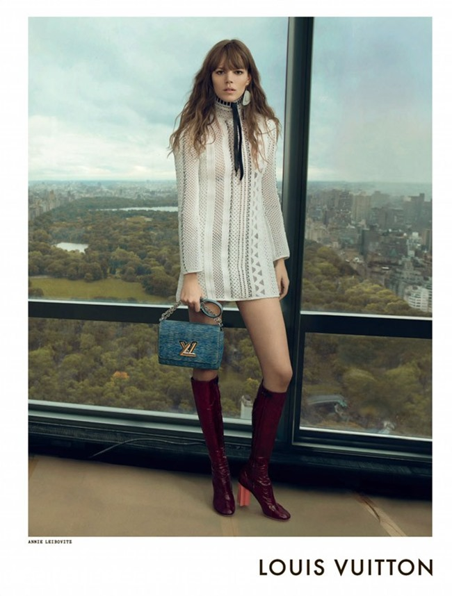 CAMPAIGN Louis Vuitton Spring 2015 by Annie Leibovitz, Bruce Weber & Juergen Teller. www.imageamplified.com, Image Amplified (1)