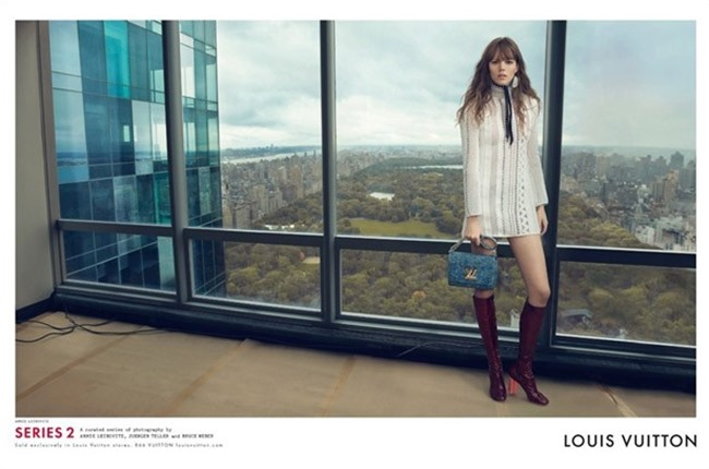 CAMPAIGN Louis Vuitton Spring 2015 by Annie Leibovitz, Bruce Weber & Juergen Teller. www.imageamplified.com, Image Amplified (9)