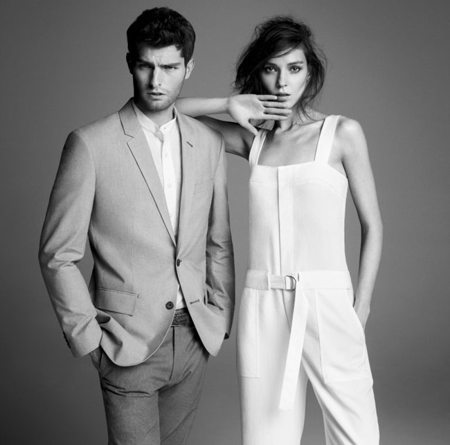 CAMPAIGN Kati Nescher & Paolo Anchisi for Club Monaco Spring 2015 by Inez & Vinoodh. www.imageamplified.com, Image Amplified (6)