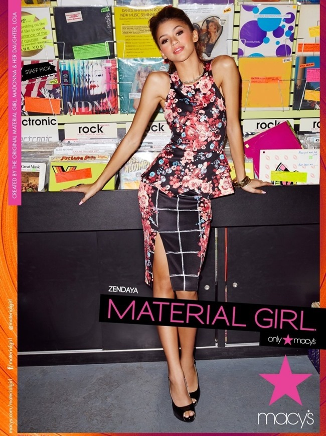 CAMPAIGN Zendaya for Material Girl Spring 2015. www.imageamplified.com, Image Amplified (5)
