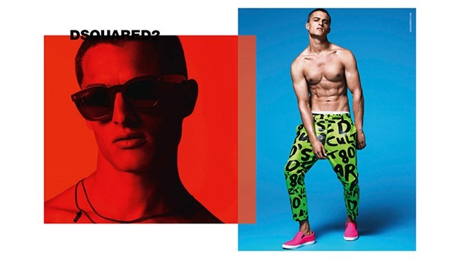 CAMPAIGN Silvester Ruck for Dsquared2 Spring 2015 by Mert & Marcus. www.imageamplified.com, Image Amplified (1)
