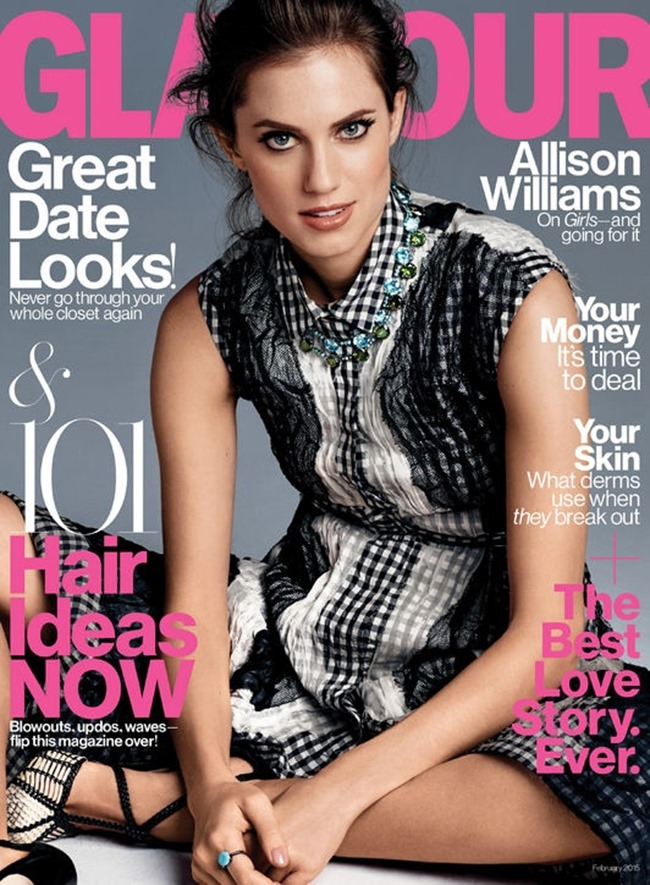 GLAMOUR MAGAZINE Allison Williams by Steven Pan. February 2015, www.imageamplified.com, Image Amplified (1)