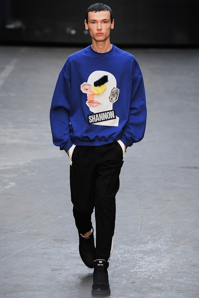 LONDON COLLECTIONS MEN Christopher Shannon Fall 2015. www.imageamplified.com, Image Amplified (1)