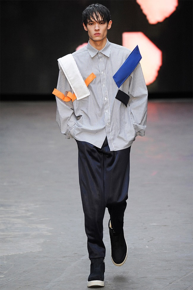 LONDON COLLECTIONS MEN Christopher Shannon Fall 2015. www.imageamplified.com, Image Amplified (3)