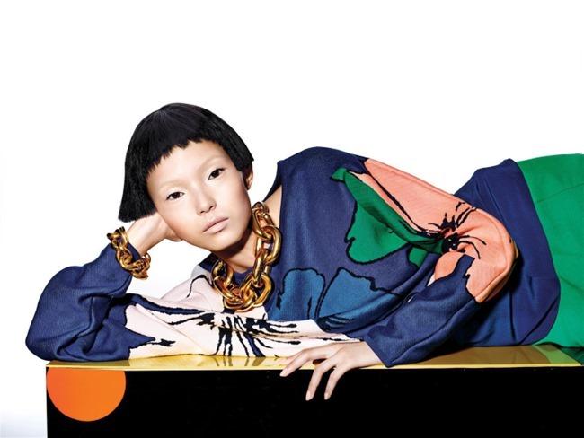 VOGUE CHINA Xiao Wen Ju by Richard Burbridge. Franck Benhamou, January 2015, www.imageamplified.com, Image Amplified (5)