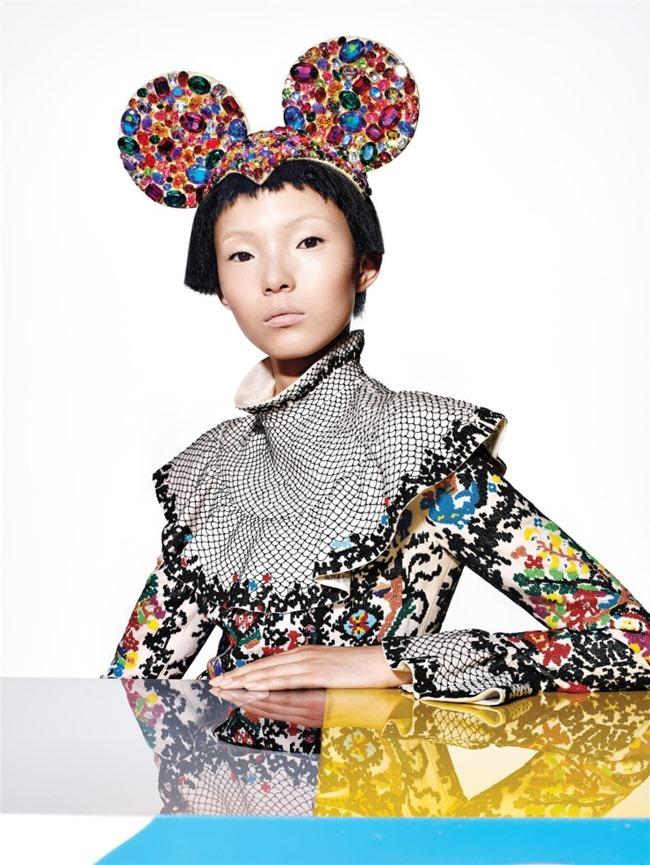 VOGUE CHINA Xiao Wen Ju by Richard Burbridge. Franck Benhamou, January 2015, www.imageamplified.com, Image Amplified (8)