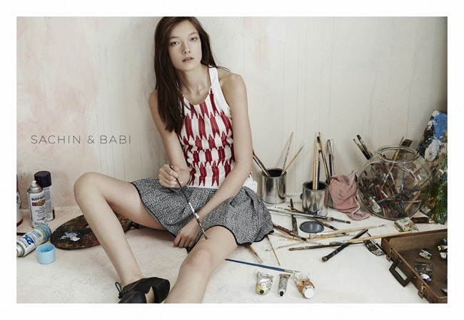 CAMPAIGN Yumi Lambert for Sachin & Babi Spring 2015 by An Le. Leith Speer Barton, www.imageamplified.com, Image Amplified (8)