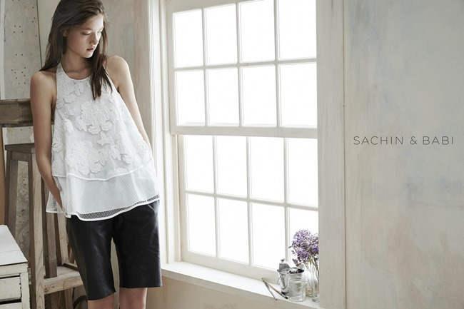 CAMPAIGN Yumi Lambert for Sachin & Babi Spring 2015 by An Le. Leith Speer Barton, www.imageamplified.com, Image Amplified (3)
