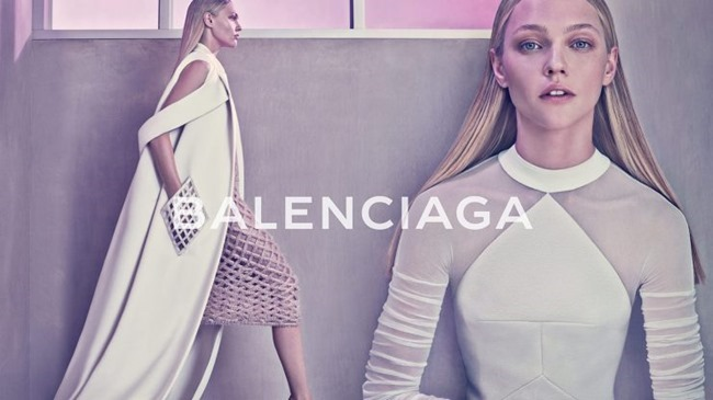 CAMPAIGN Sasha Pivovarova for Balenciaga Spring 2015 by Steven Klein. Panos Yiapanis, www.imageamplified.com, Image Amplified (1)
