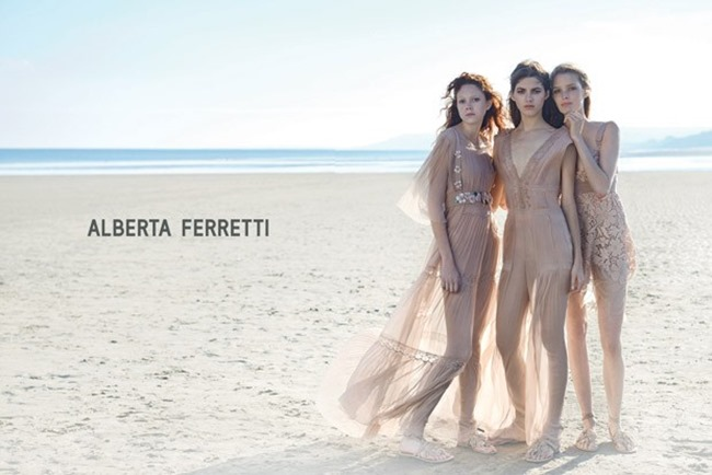 CAMPAIGN Alberta Ferretti Spring 2015 by Peter Lindbergh. www.imageamplified.com, Image Amplified (2)