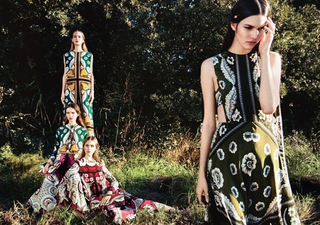 CAMPAIGN Valentino Spring 2015 by Michal Pudelka. Karl Templer, www.imageamplified.com, Image Amplified (2)