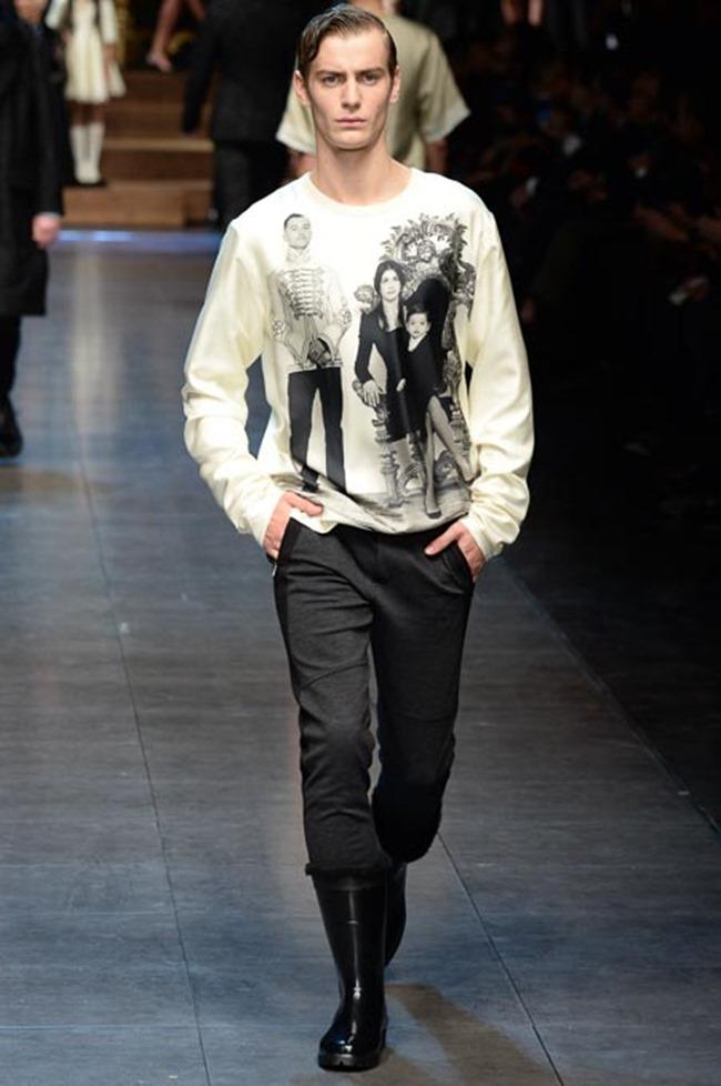 MILAN FASHION WEEK Dolce & Gabbana Fall 2015. www.imageamplified.com, Image Amplified (6)