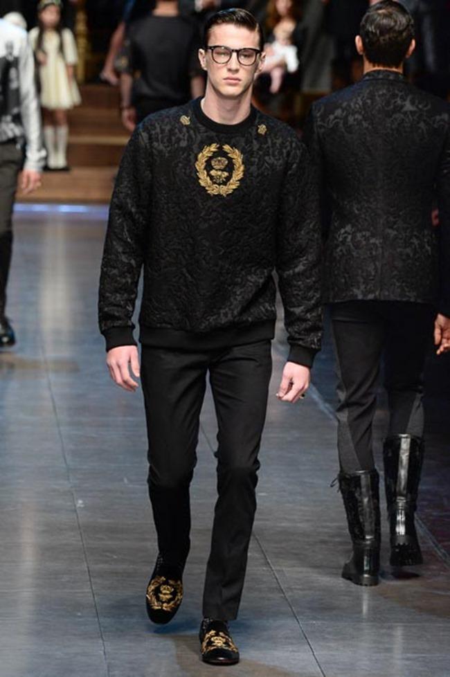MILAN FASHION WEEK Dolce & Gabbana Fall 2015. www.imageamplified.com, Image Amplified (15)