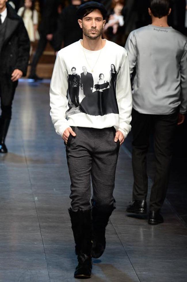 MILAN FASHION WEEK Dolce & Gabbana Fall 2015. www.imageamplified.com, Image Amplified (18)