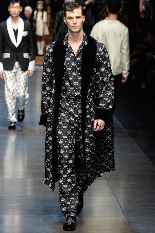 MILAN FASHION WEEK Dolce & Gabbana Fall 2015. www.imageamplified.com, Image Amplified (63)