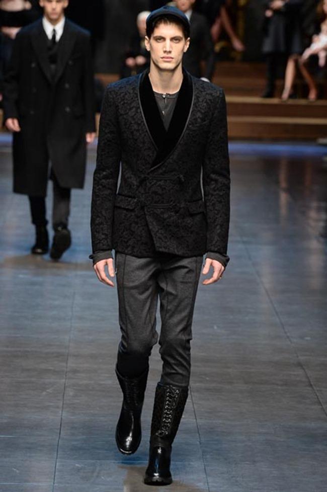 MILAN FASHION WEEK Dolce & Gabbana Fall 2015. www.imageamplified.com, Image Amplified (70)