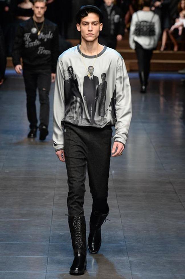 MILAN FASHION WEEK Dolce & Gabbana Fall 2015. www.imageamplified.com, Image Amplified (76)