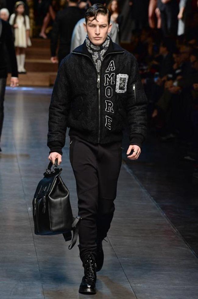 MILAN FASHION WEEK Dolce & Gabbana Fall 2015. www.imageamplified.com, Image Amplified (78)