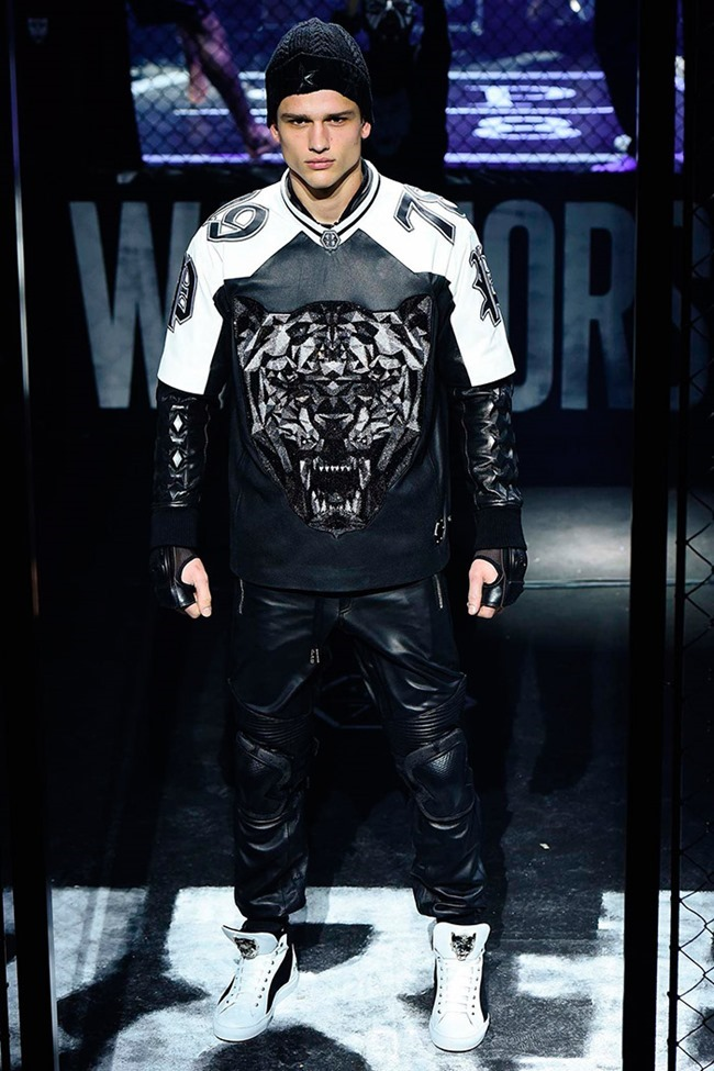 MILAN FASHION WEEK Philipp Plein Fall 2015. www.imageamplified.com, Image Amplified (1)