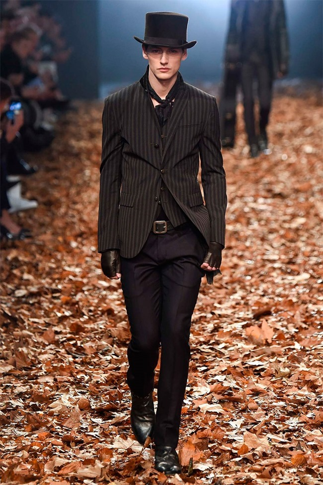 MILAN FASHION WEEK John Varvatos Fall 2015. www.imageamplified.com, Image Amplified (12)