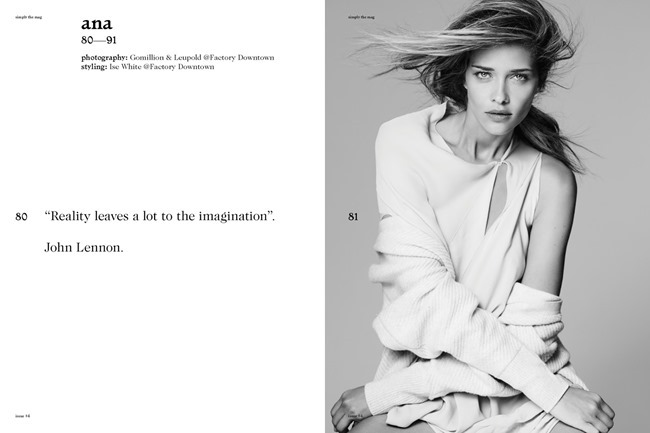 SIMPLY MAGAZINE Ana Beatriz Barros by Gomillion & Leupold. Ise White, Spring 2015, www.imageamplified.com, Image Amplified (2)