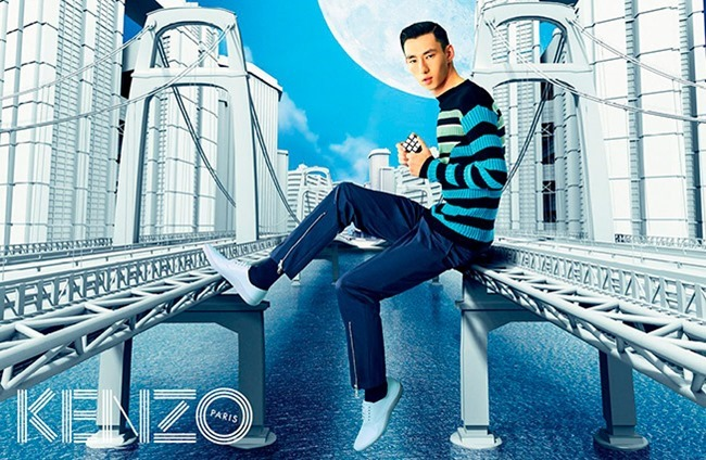 CAMPAIGN Kenzo Spring 2015 by Pierpaolo Ferrari, www.imageamplified.com, image Amplified (1)