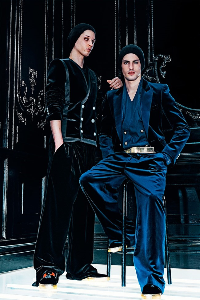 LOOKBOOK Abiah Hostvedt and Corto Boutan for Balmain Fall 2015 by Dominick Sheldon. www.imageamplified.com, Image Amplified (3)