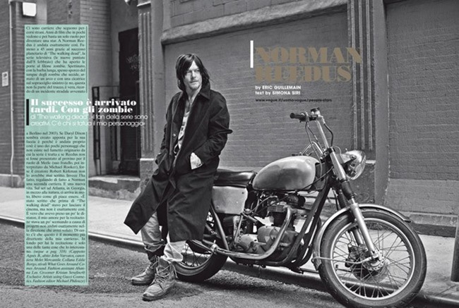 L'UOMO VOGUE Norman Reedus by Eric Guillemain. Spring 2015, www.imageamplified.com, Image Amplified (2)