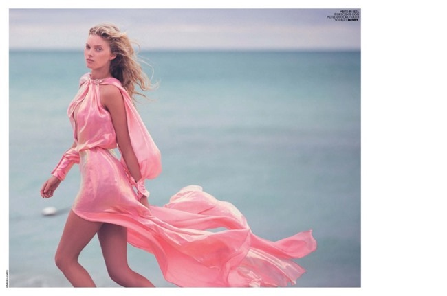 MARIE CLAIRE ITALIA Elsa Hosk by David Bellemere. Elisabetta Massari, February 2015, www.imageamplified.com, Image Amplified (3)