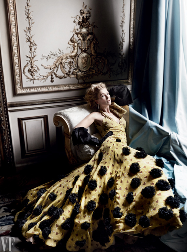 VANITY FAIR MAGAZINE Rosamund Pike by Mario Testino. Jessica Diehl, February 2015, www.imageamplified.com, Image Amplified (4)