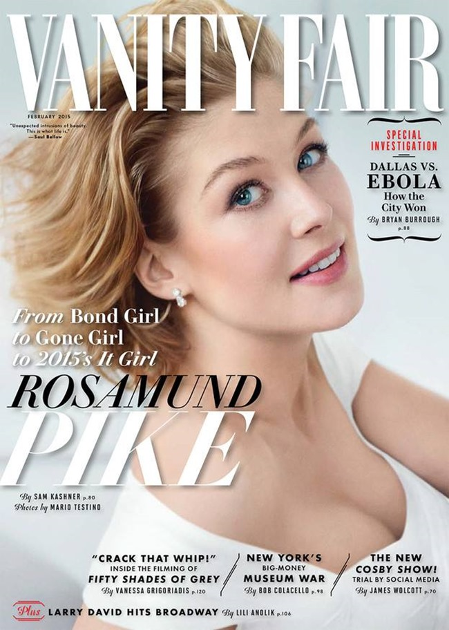 VANITY FAIR MAGAZINE Rosamund Pike by Mario Testino. Jessica Diehl, February 2015, www.imageamplified.com, Image Amplified (1)