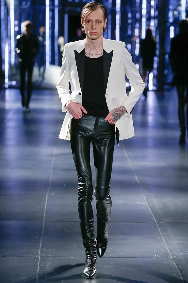 PARIS FASHION WEEK Saint Laurent Fall 2015. www.imageamplified.com, Image Amplified (5)
