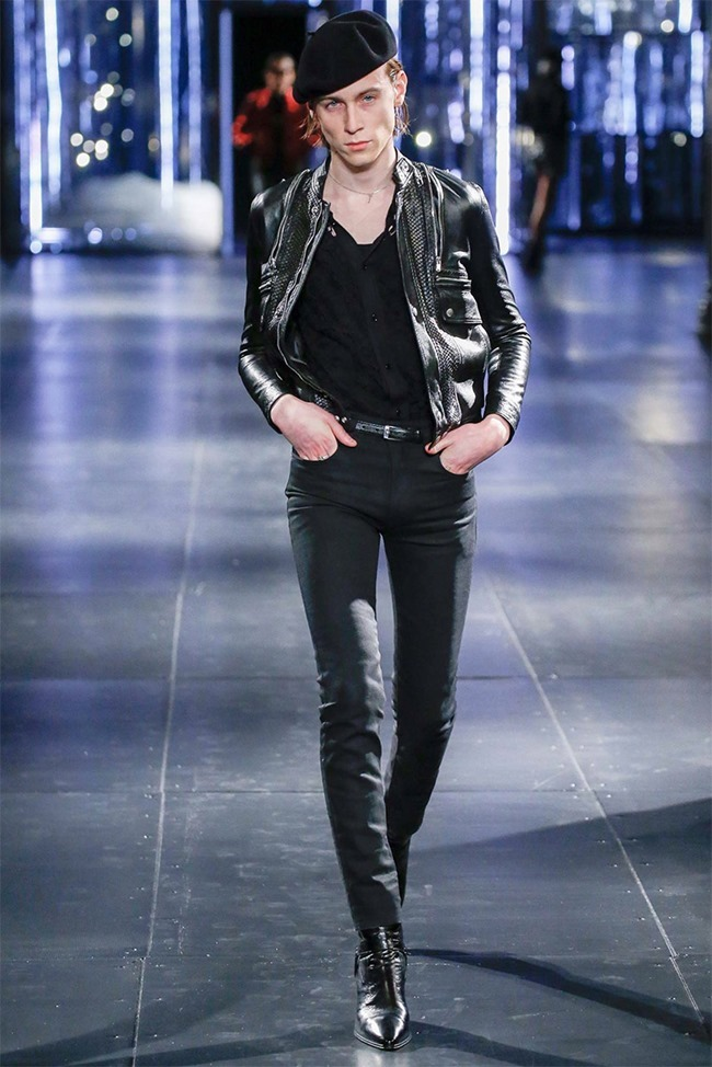 PARIS FASHION WEEK Saint Laurent Fall 2015. www.imageamplified.com, Image Amplified (35)