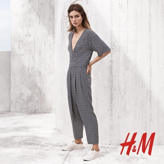 CAMPAIGN Andreea Diaconu for H&M Spring 2015 by Josh Olins. Robert Rydberg, www.imageamplified.com, Image Amplified (1)