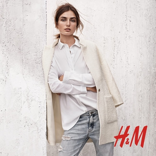 CAMPAIGN Andreea Diaconu for H&M Spring 2015 by Josh Olins. Robert Rydberg, www.imageamplified.com, Image Amplified (2)