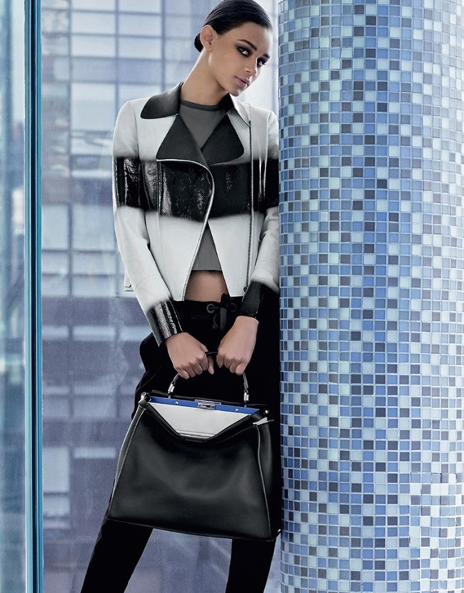 CAMPAIGN Lindsey Wixson & Binx Walto for Fendi Spring 2015 by Karl Lagerfeld. www.imageamplified.com, Image Amplified (3)